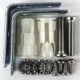 Zestaw montażowy do umywalek półblatowych Roca A527004714