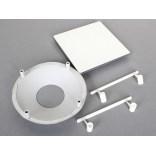 Adapter z pokrywką do wanny kwadratowy Sanplast 660-C1577 chrom