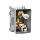BOX podtynkowy termostatyczny z przełącznikiem natrysku Deante BOX BXX X44T POWYSTAWOWY