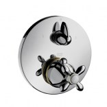 Bateria natryskowa podtynkowa termostatyczna Hansgrohe Axor CARLTON 17725090 chrom / złota