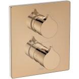 Bateria podtynkowa prysznicowa do RocaBox Roca INSIGNIA ROSE GOLD A5A2C3ARG0 różowe złoto