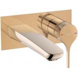 Bateria podtynkowa umywalkowa Roca INSIGNIA ROSE GOLD A5A353ARG0 różowe złoto