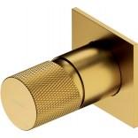 Bateria prysznicowa podtynkowa Omnires CONTOUR CT8045GLB złoty szczotkowany
