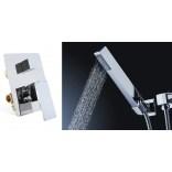 Bateria prysznicowa podtynkowa + zestaw natryskowy Rea NIRO REA-B0054