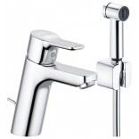 Bateria umywalkowa z rączką higieniczną Kludi PURE&EASY 372590565