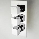 Bateria wannowa podtynkowa 3-wyjściowa z termostatem Omnires FRESH FR7138/6