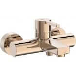 Bateria wannowa ścienna Roca NAIA ROSE GOLD A5A0296RG0 różowe złoto