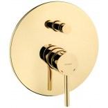 Bateria wannowo-prysznicowa podtynkowa Oltens MOLLE 34100800 złota