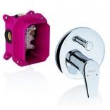 Bateria wannowo-prysznicowa podtynkowa z przełącznikiem NO 065.00 R-Box Ravak NEO X070045