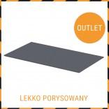 Blat uniwersalny 80 cm Oristo grafit połysk OR00-BU-80-5 LEKKO PORYSOWANY