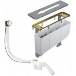 Blok montażowy do baterii 3-otworowej Kludi 7880205-00 przel. 70