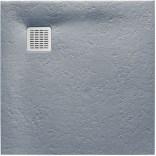 Brodzik kwadratowy 100x100 Roca TERRAN AP033E83E801300 szary cement