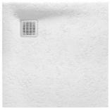 Brodzik kwadratowy 90 cm z syfonem w komplecie Roca TERRAN AP10338438401100 biały