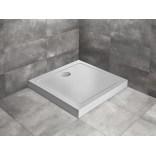 Brodzik kwadratowy 90x11,5 Radaway DOROS C Compact Stone SDRC9090-05-04S biały