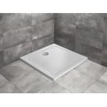 Brodzik kwadratowy 90x4,5 Radaway DOROS C STONE SDRC9090-01-04S biały