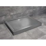 Brodzik prostokątny 100x80x11,5 Radaway DOROS D Compact Stone SDRD1080-05-64S antracyt