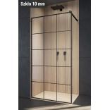 Czarna kabina walk-in 110x200 Radaway MODO X BLACK II 389314-54-55 Factory