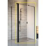 Czarne drzwi prysznicowe 120x200 Radaway NES BLACK KDS II 10033120-54-01L lewe