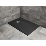 Czarny brodzik prostokątny 100x70 Radaway KYNTOS F HKF10070-54