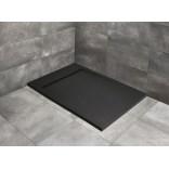 Czarny brodzik prostokątny 130x80 Radaway TEOS F HTF13080-54
