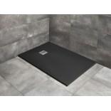 Czarny brodzik prostokątny 180x100 Radaway KYNTOS F HKF180100-54