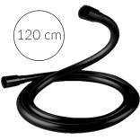 Czarny wąż prysznicowy 120 cm Excellent ROUND BLACK AREX.SHB.R120BL