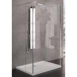 Kabina prysznicowa prostokątna walk-in 100x200 cm szkło czyste 8 mm z powłoką Active Shield New Trendy MODUS EXK-1157