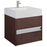 Szafka wisząca pod umywalkę 60 Koło TWINS Oristo IMPERIAL OR18-SDKT-57-1 wenge