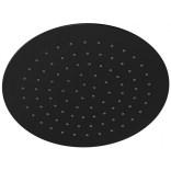 Deszczownica natryskowa 25 cm Corsan CMDO25 LUGO okrągła czarna