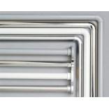 Drążek prysznicowy kątowy 90x90 cm Sealskin SEALLUX 276666205 matowy