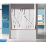 Drzwi nawannowe 150 cm, Sanplast TX5 600-271-1550-26-231 grW15