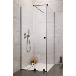 Drzwi prysznicowe 100cm Radaway FURO BLACK KDJ RH 10104492-54-01LU,10110510-01-01 lewe