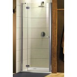 Drzwi prysznicowe 100x185 Radaway TORRENTA DWJ 31920-01-05N lewe, grafit