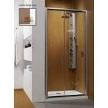 Drzwi prysznicowe 100x190 Radaway PREMIUM PLUS DWJ 33303-01-08N brązowa