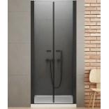 Drzwi prysznicowe 120x195 New Trendy NEW SOLEO BLACK D-0218A