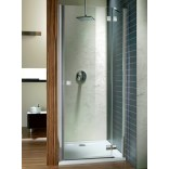 Drzwi prysznicowe 120x195 Radaway ALMATEA DWJ 31502-01-05N grafitowe, prawe