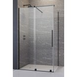 Drzwi prysznicowe 130cm Radaway FURO BLACK KDJ 10104672-54-01L,10110630-01-01 lewe