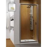 Drzwi prysznicowe 130x190 Radaway PREMIUM PLUS DWJ 33333-01-06N fabric