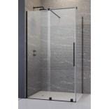 Drzwi prysznicowe 140cm Radaway FURO BLACK KDJ 10104722-54-01L,10110680-01-01 lewe