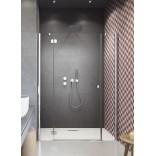 Drzwi prysznicowe 160x185 Radaway TORRENTA DWJS 320812-01-01R + 320343-01-01 prawe