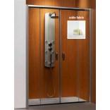 Drzwi prysznicowe 160x190 Radaway PREMIUM PLUS DWD 33363-01-06N fabric