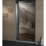 Drzwi prysznicowe 90 Omnires S-90D szkło brązowe