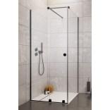 Drzwi prysznicowe 90cm Radaway FURO BLACK KDJ RH 10104442-54-01LU,10110460-01-01 lewe