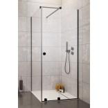 Drzwi prysznicowe 90cm Radaway FURO BLACK KDJ RH 10104442-54-01RU,10110460-01-01 prawe