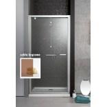 Drzwi prysznicowe 90x190 Radaway TWIST DW 382002-08 brązowe