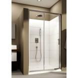 Drzwi przesuwne 100x190 cm szkło przejrzyste Aquaform SUPRA PRO 103-09329