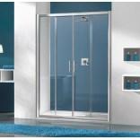 Drzwi przesuwne 160 cm, Sanplast TX5 600-271-1260-01-401 biewW0