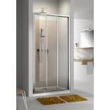 Drzwi przesuwne 90x190 szkło przejrzyste Aquaform MODERNO 103-09341