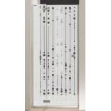 Drzwi skrzydłowe 120 cm, Sanplast FREE 600-260-0360-42-211 cm/sbW16
