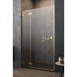 Drzwi wnękowe 130x200 Radaway ESSENZA PRO GOLD DWJ 10099130-09-01L złote/lewe